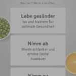Zunehmen App1
